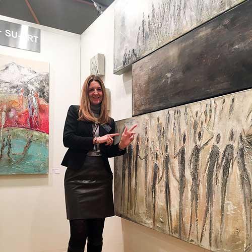 Vernissage 17. Art International Zürich, 2015