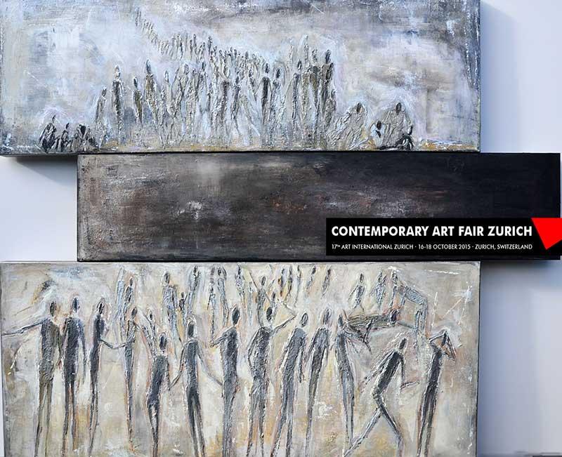 ART INTERNATIONAL ZÜRICH vom 15.-18.Oktober, 2015