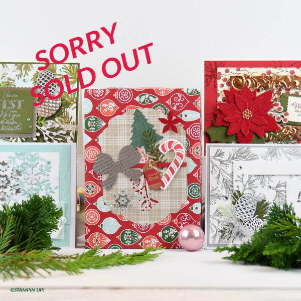 Weihnachtsstern - Grußkarten