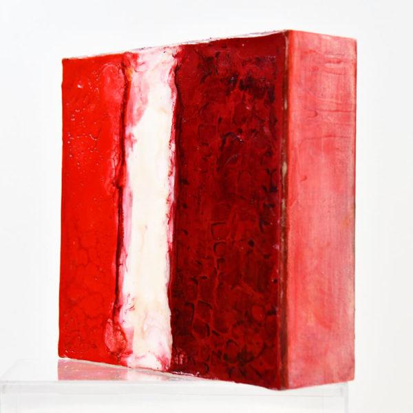 Regenbogen – Blood Red - Enkaustik
