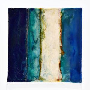 Regenbogen - Ice Floe - Enkaustik