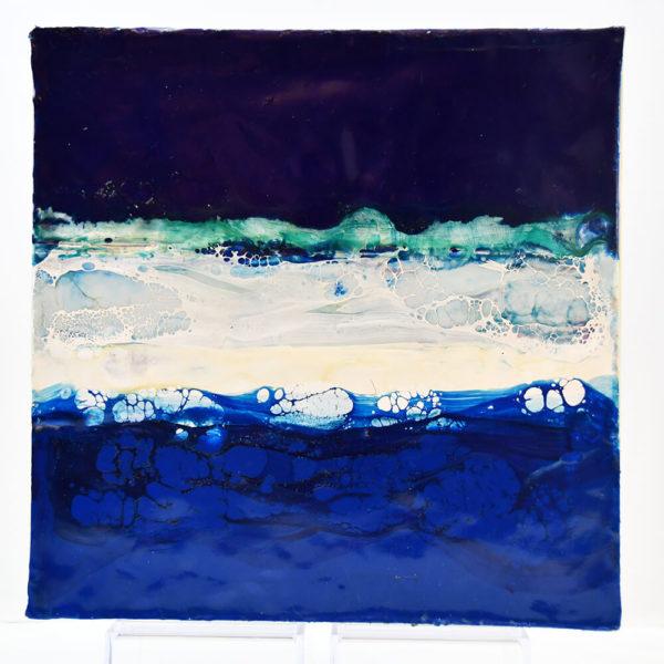 Regenbogen - Icebreaker - Enkaustik
