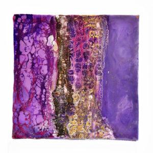 Regenbogen - Purple Sky - Enkaustik