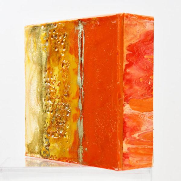 Regenbogen – Sweet Honey - Enkaustik