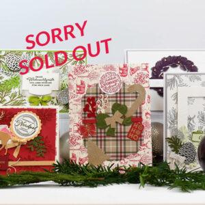 Festliche Weihnacht - Grußkarten