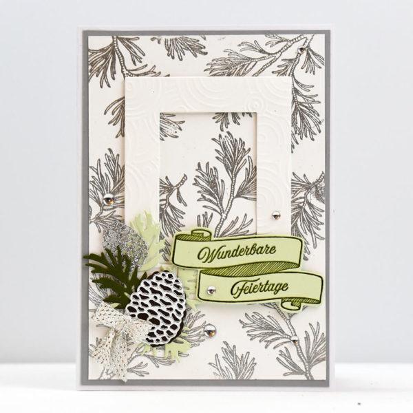 Festliche Weihnacht - Grusskarten