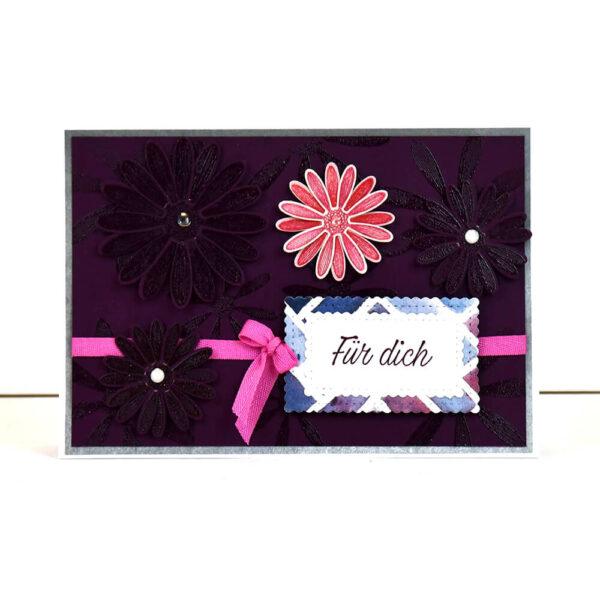 Blumengruesse - Grußkarten